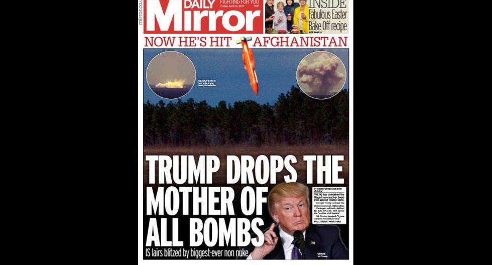 """""""La madre de todas las bombas"""" en las portadas del mundo - 3"""