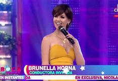 Brunella Horna reaparece con radical cambio de look y asegura lucir elegante