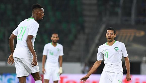 Arabia Saudita no presenta futbolistas top, sus últimos resultados amistosos no son muy alentadores y en el ránking FIFA es el equipo más débil entre los que participarán en Rusia 2018. (Foto: @SaudiNT)