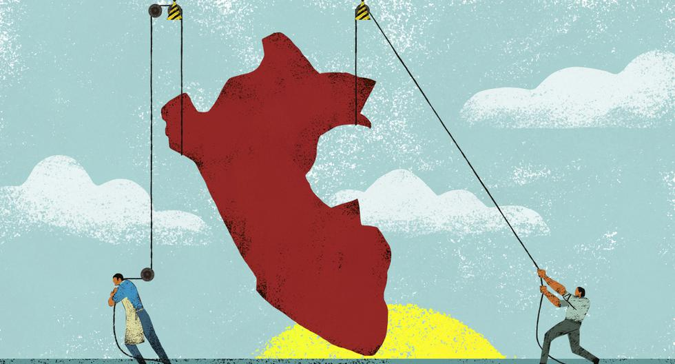 En el bicentenario de la independencia, queda claro que hacer negocios en el Perú no es una tarea sencilla, pero que se hace con mucho esfuerzo y optimismo. Esto ha permitido el crecimiento de la economía nacional y encamina la recuperación de la crisis del COVID-19. (Ilustración: Víctor Aguilar)
