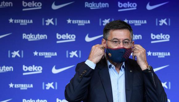 La moción de censura contra Josep Maria Bartomeu continúa. (Foto: AFP)