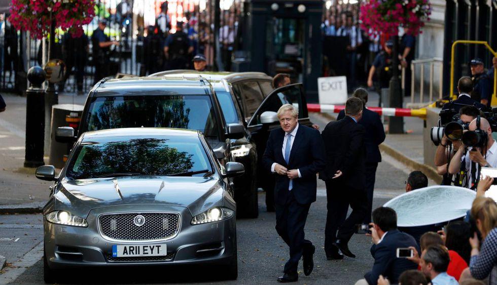 Boris Johnson asume el cargo de primer ministro del Reino Unido . (Foto: AFP)