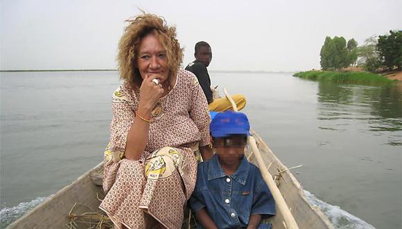 Sophie Pétronin fue secuestrada por un grupo yihadista en Mali. Tras cuatro años como rehén por fin retorna a Francia. (Foto de archivo: AFP)