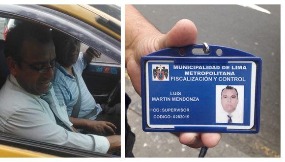 Gino Julio Perales Peláez fue intervenido en la intersección de la avenida Nicolás de Piérola y el jirón Camaná, en el Cercado de Lima. (Fotos: Difusión)