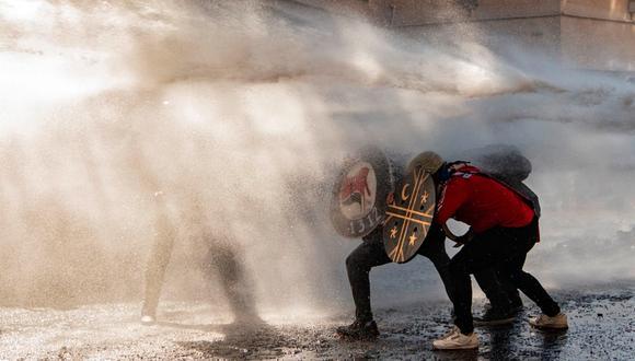 Chile vivió una ola de protestas sociales desde el 2019 que mostró al mundo la desigualdad del país. FOTO: AFP