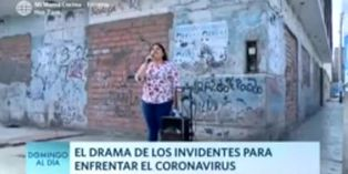 Coronavirus en Perú: así pasan sus días los invidentes durante el estado de emergencia