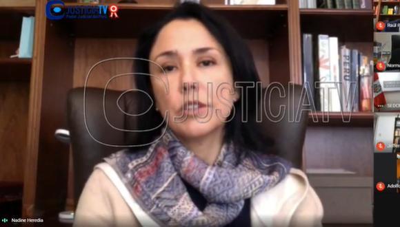 La fiscal del Equipo Especial, Geovana Mori, solicitó 36 meses de prisión preventiva contra Heredia Alarcón y dos exministros, quienes son investigados por los presuntos delitos de asociación ilícita para delinquir y colusión agravada en perjuicio del Estado.