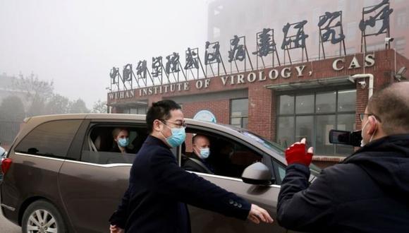 La visita del equipo internacional de la OMS está estrictamente controlada por las autoridades chinas. (Reuters).
