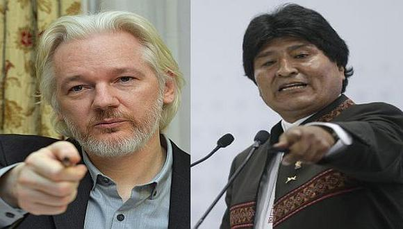 Julian Assange puso en riesgo vida de Evo Morales en el 2013