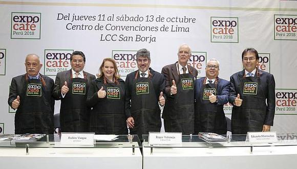 La feria Expo Café Perú se realizará del 11 al 13 de octubre en el Centro de Convenciones de Lima. (Foto: Mincetur)