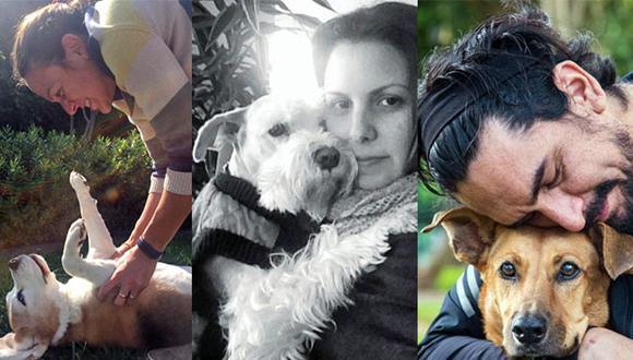 Ximena Canessa y Kira; Sandra Moshkevich y Bono; Christian Gray y Canela, tres historias de verdadero amor y desapego. (Fotos: Cortesía)