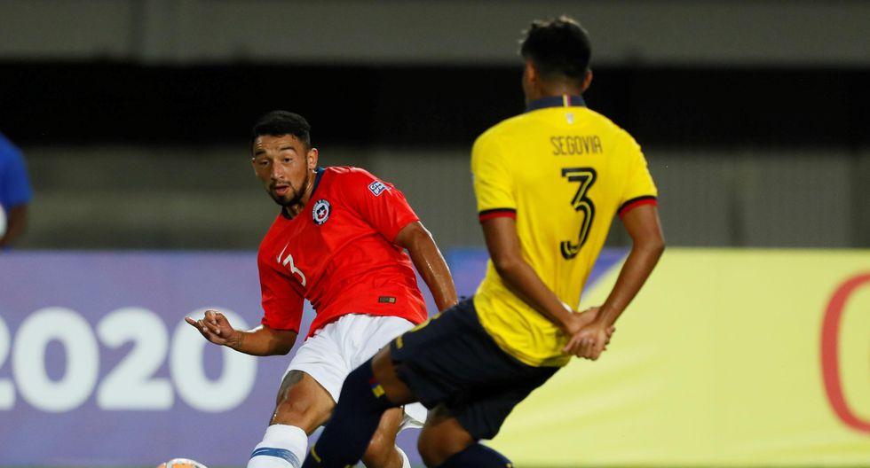 Chile enfrentó a Ecuador por el Preolímpico Sub 23 rumbo a Tokio 2020 | Foto: Agencias