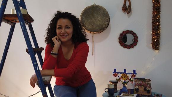 Araceli Poma lleva diez años difundiendo la música criolla por el mundo. (Foto: El Comercio)