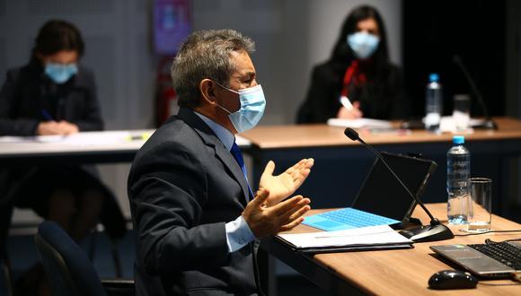 Tomás Gálvez acudió a la Junta Nacional de Justicia para sustentar su pedido de reconsideración ante la sanción de suspensión de seis meses que se le impuso. (FOTO: GEC)