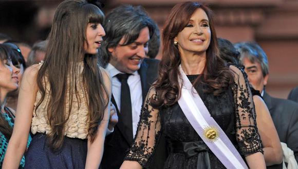 Cristina Kirchner y sus hijos van a juicio oral por lavado de dinero. (Foto: La Nación, GDA)