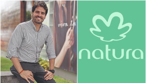 """""""Este año esperamos crecer a doble dígito"""", dice el gerente general de Natura Perú, Eduardo Eiger."""