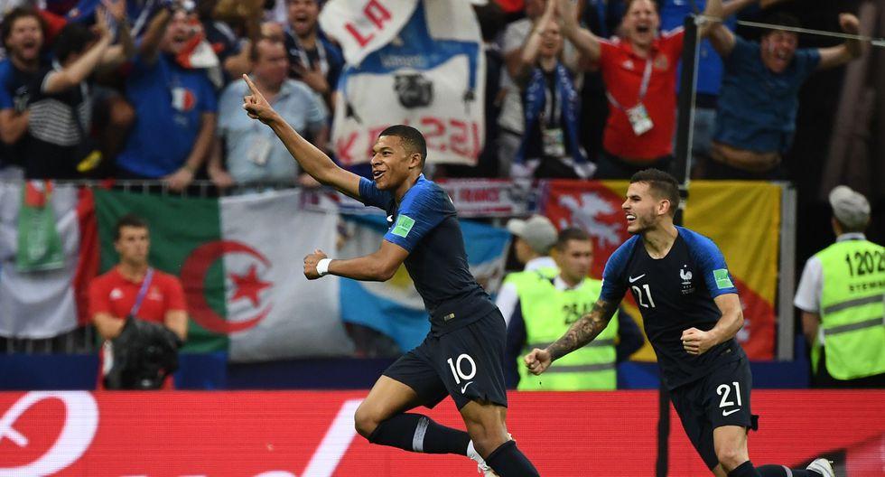 Francia vs. Croacia: Mbappé es el segundo jugador más joven en anotar un gol en una final del Mundial.