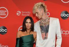 American Music Awards: Megan Fox y Machine Gun Kelly protagonizan su primera red carpet