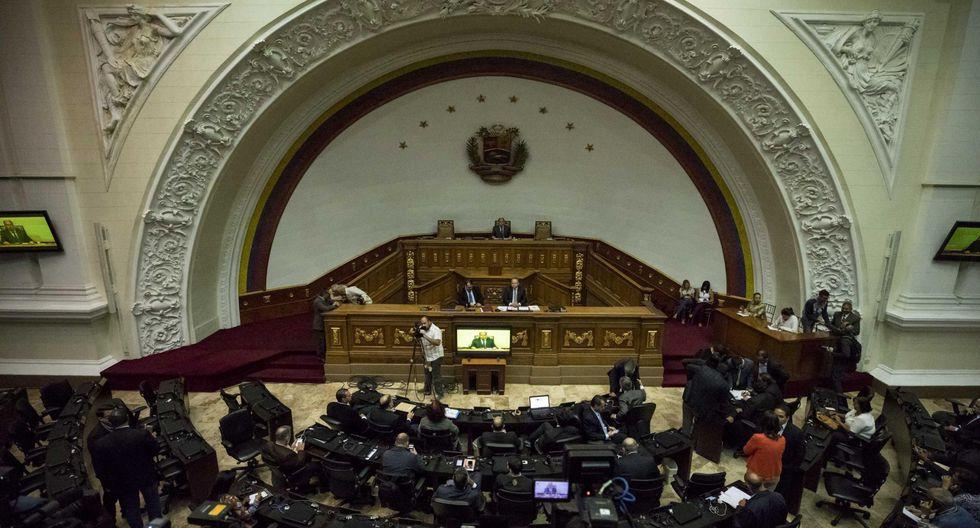El Parlamento de Venezuela está dominado por la oposición. (EFE).