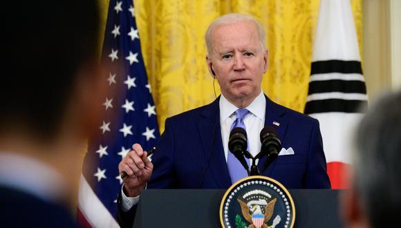 El presidente de Estados Unidos, Joe Biden. Bloomberg