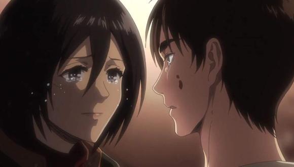 """El final de """"Shingeki no Kyojin"""" reveló los verdaderos sentimientos de Eren por Mikasa (Foto: MAPPA Studio)"""