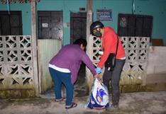 Huánuco: entregan víveres en horario de toque de queda para evitar aglomeración de personas