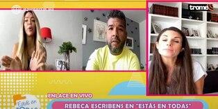 Sheyla Rojas no soportó broma de Rebeca Escribens y reaccionó así