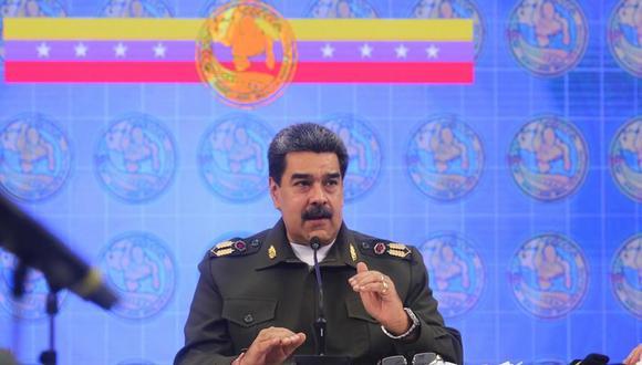 El presidente de Venezuela Nicolás Maduro. (Foto: EFE).
