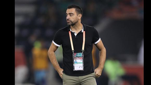 Xavi Hernández es entrenador del Al Sadd, de Qatar. (Foto: AFP)