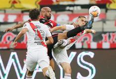 River Plate y Atlético Paranaense igualaron 1-1 en Brasil por la Copa Libertadores