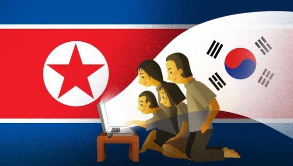 Aunque es ilegal, muchos en Corea del Norte miran programas extranjeros.