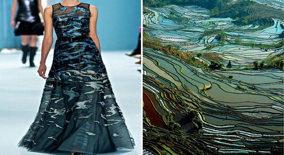 Imágenes de inspiración para una colección de moda