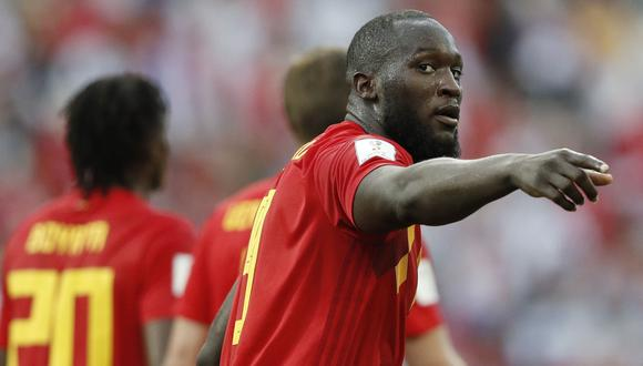 Panamá vs. Bélgica: Romelu Lukaku anotó su primer gol en el Mundial Rusia 2018. (Foto: AFP)