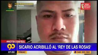 Rímac: sicario asesina a balazos al 'Rey de las rosas'