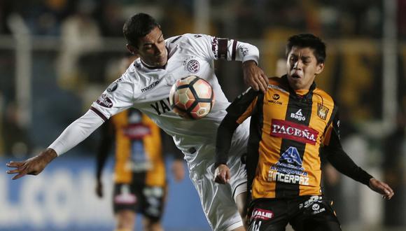 The Strongest perdió 1-0 ante Lanús en Bolivia por la Copa Libertadores 2017. (Foto: Agencias)