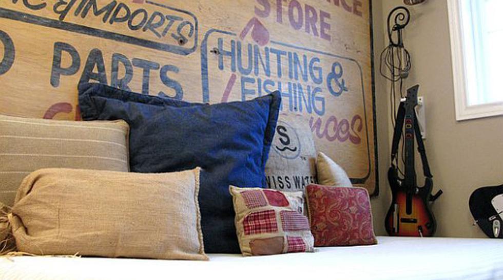 Ideas curiosas para decorar la cabecera de tu dormitorio - 1