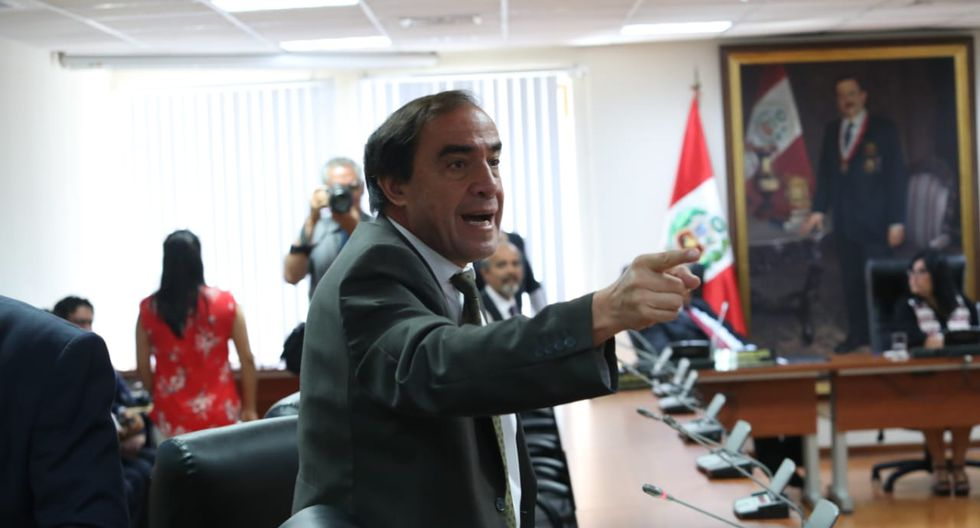 El congresista Yonhy Lescano reiteró que existe un complot en su contra. (Foto: Rolly Reyna / GEC)