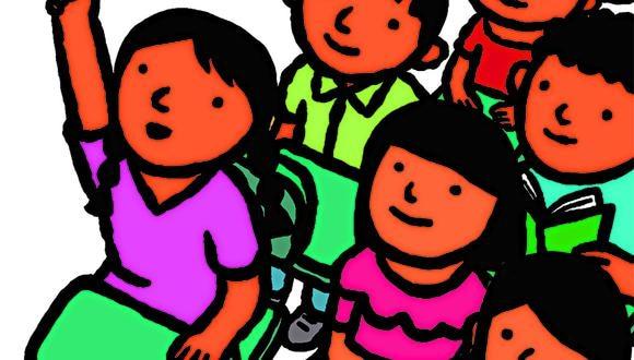 """""""Pese a saber que el siglo XXI estará marcado por el aprendizaje a distancia, aún era inusual en el Perú; pero ha llegado para no irse más"""". (Ilustración: Víctor Aguilar)"""