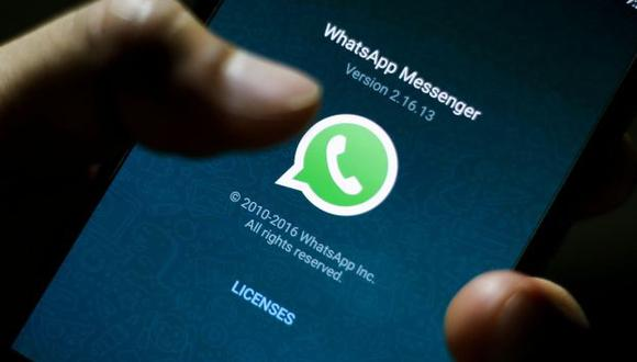 WhatsApp . (Foto: EFE)