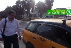Metropolitano: taxistas invaden paradero de buses alimentadores