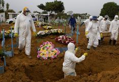 Brasil registra 713 fallecidos por coronavirus en un día y el total se aproxima a 240.000