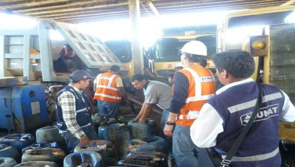 Madre de Dios: incautan petróleo y mercurio a mineros ilegales