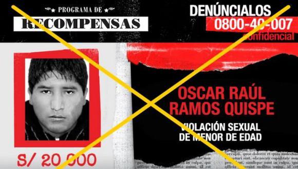 Los más buscados: sujeto que violó a menor cayó en Huancayo