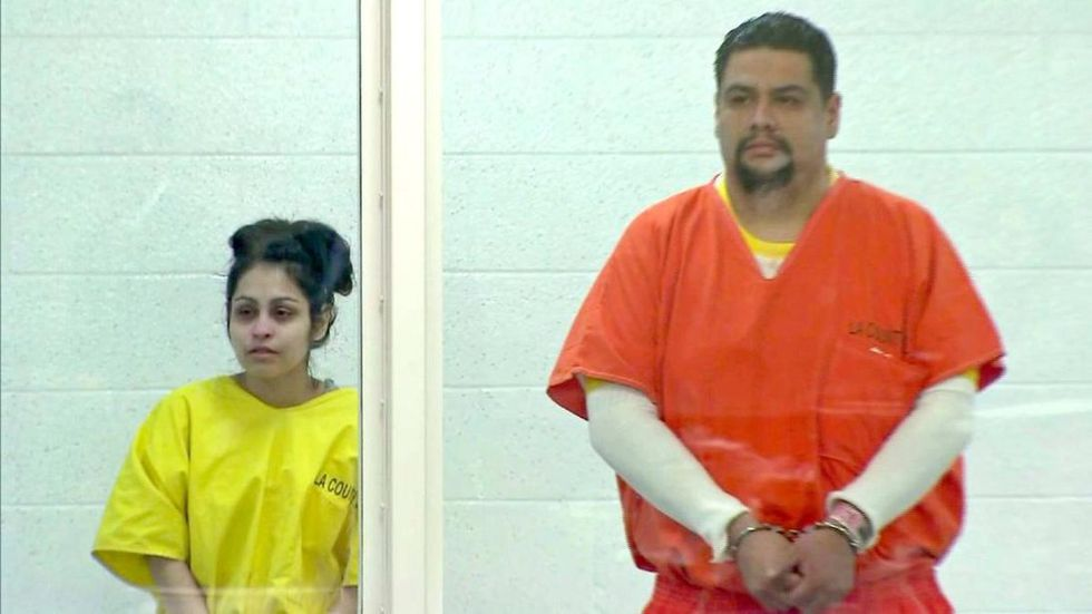A grand jury accused Pearl Fernández and Isauro Aguirre on charges of murder and a special circumstance of torture. However, only Aguirre ended up facing the death penalty (Photo: YouTube)