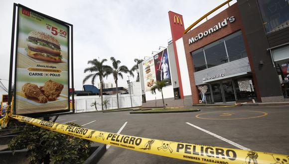 Fiscalía informa indagación preliminar de oficio al fiscal provincial Guido Maximiliano Vera Vera que archivó denuncia por caso McDonald's. (Foto: César Grados/GEC).