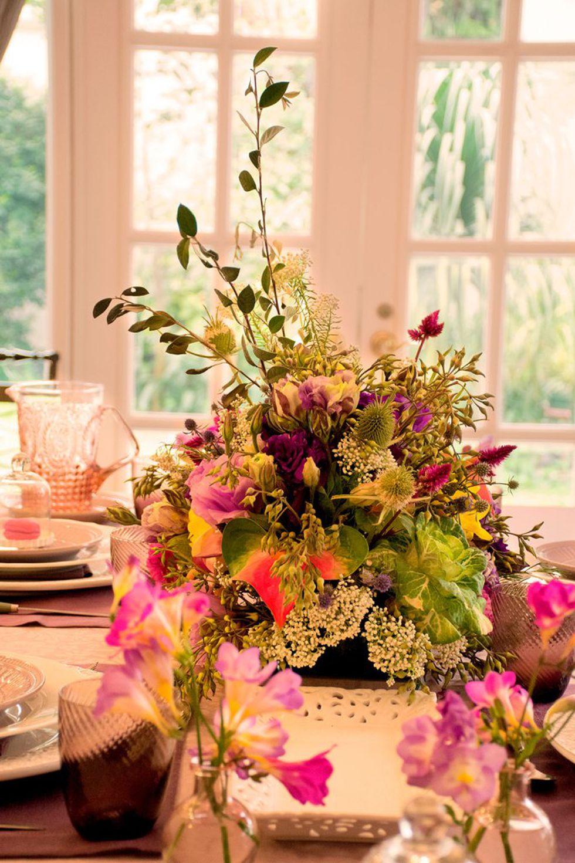 El centro de mesa será la estrella de tu decoración. (Foto: La Página de Grace)