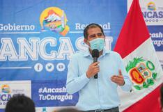 Gobernador de Áncash afronta cinco pedidos de suspensión y una de vacancia del cargo