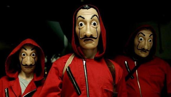 La casa de papel: la máscara de Don Quijote, la otra opción que casi destrona a Dalí (Foto: Netflix)