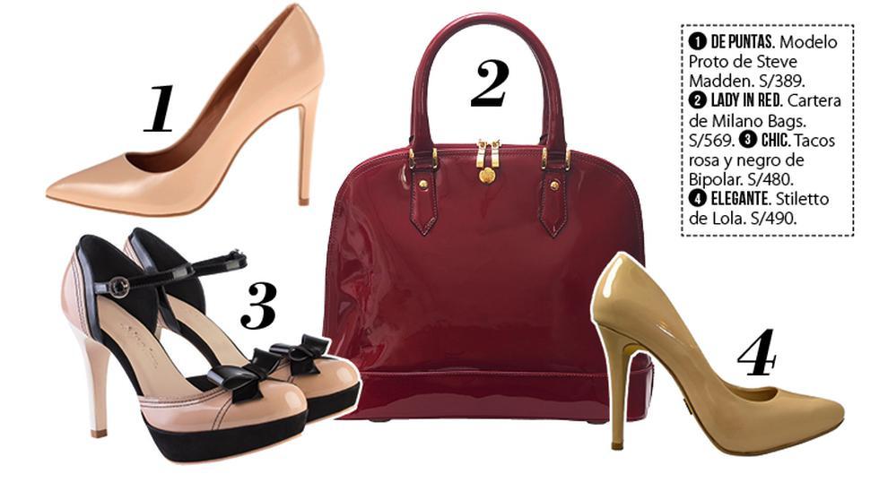 Clásica: combinaciones de zapatos y carteras de charol - 2