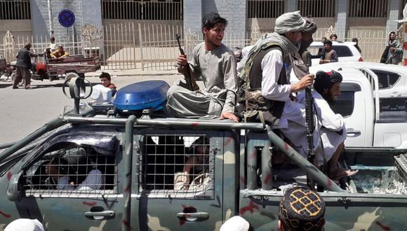 Los talibanes han vuelto a retomar su poderío en Afganistán y la violencia no ha demorado en hacer noticia. (Photo by - / AFP)